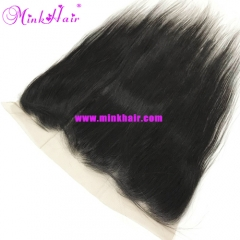 Mink Her Hair Company 10A Pre-Plucked Baby Hair Silky Straight Frontal