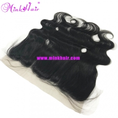 Mink Brazilian Body Wave Pre-Plucked With Bady Hair 13*4 Lace Frontal