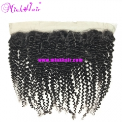 Diamond Virgin Hair Mink Brazilian Hair Curly Wave Lace Frontal