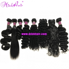 Mink Malaysian Hair 8 Textures Wholesale Mink Hair Weave