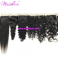 Wholesale 100% Unprocessed Virgin Mink Hair Burmese Hair Closure