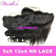 Wholesale 13x4 HD Lace Frontal and 5x5 HD Lace Closure
