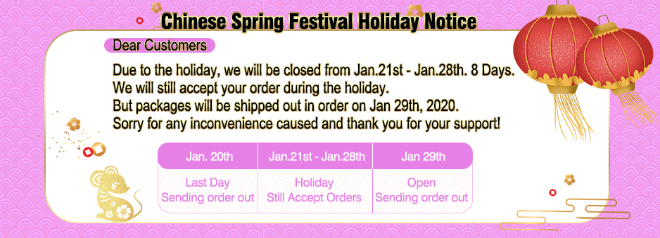 mink hair holiday notice