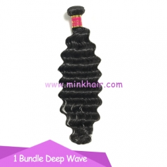 Mink Hair Weave Wholesale 100% Virgin Human Hair Bundle Deep Wave Brazilian Hair