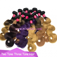 New Brazilian Ombre Three Tone Hair And Tone Tone Hair