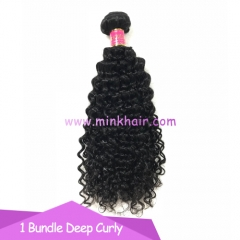 Mink Hair Extensions 10A Grade Brazilian Mink Deep Curly Hair