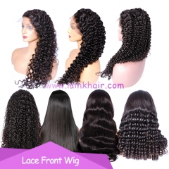 10A Grade Lace Front Wig 150% Density 13*6 Lace For Black Women